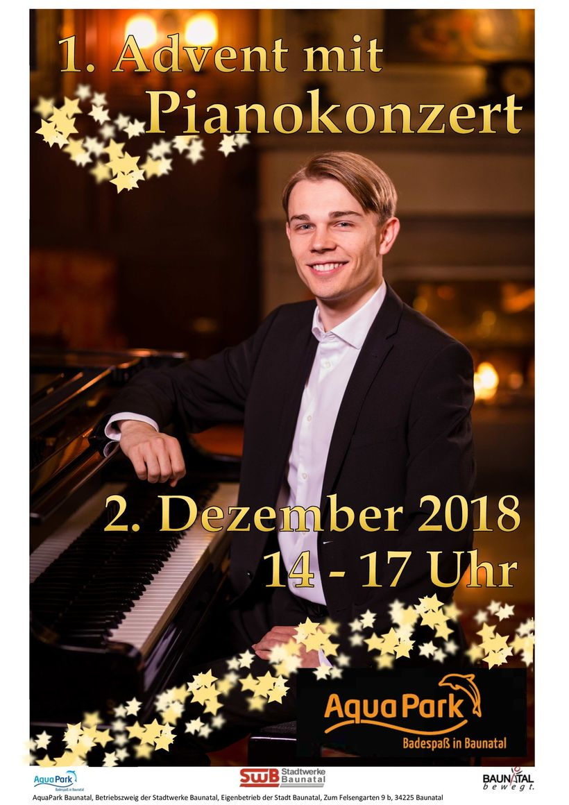 1. Advent mit Pianokonzert